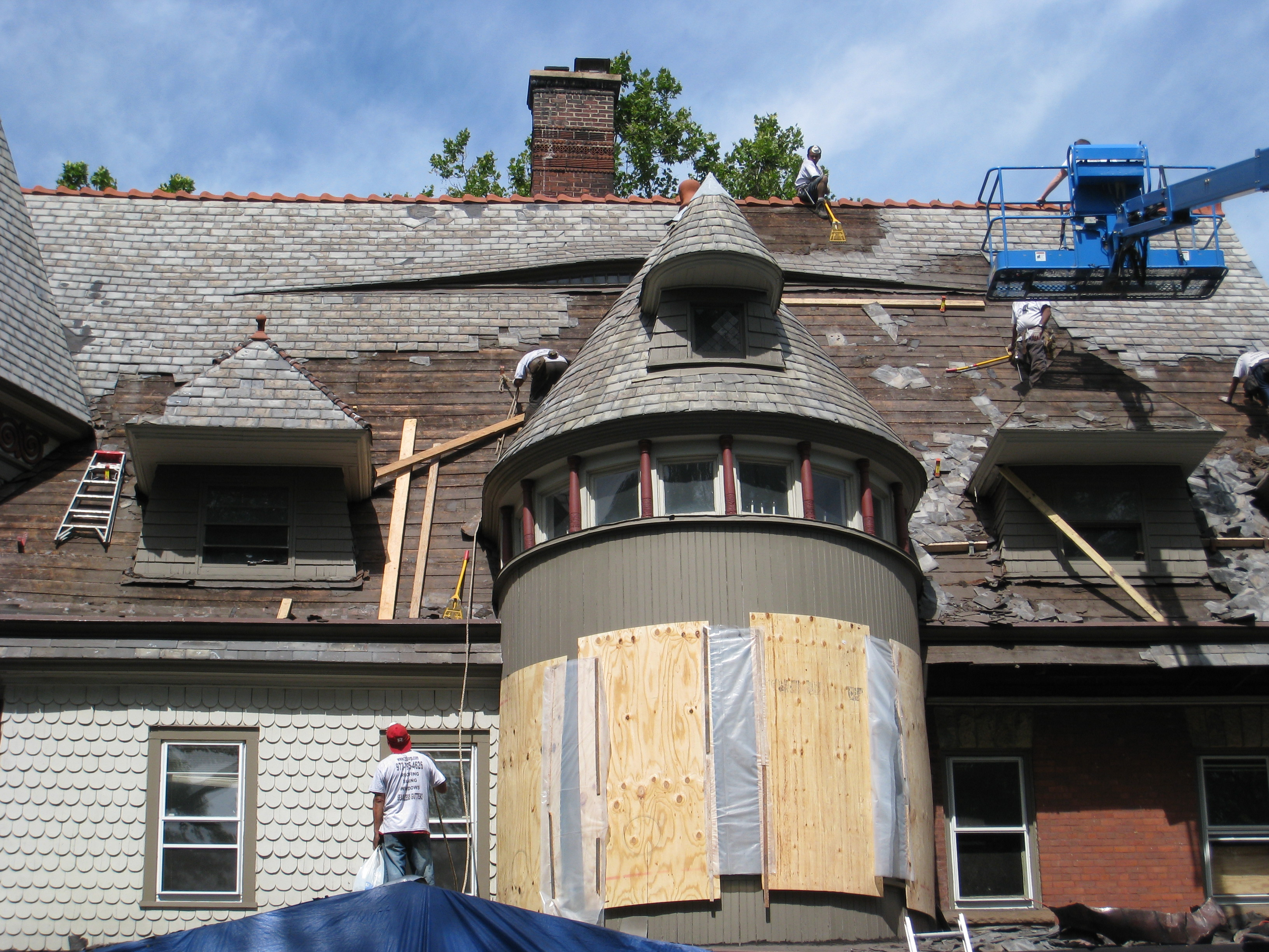 Pictures Of Residential Commercial Roofing Contractors