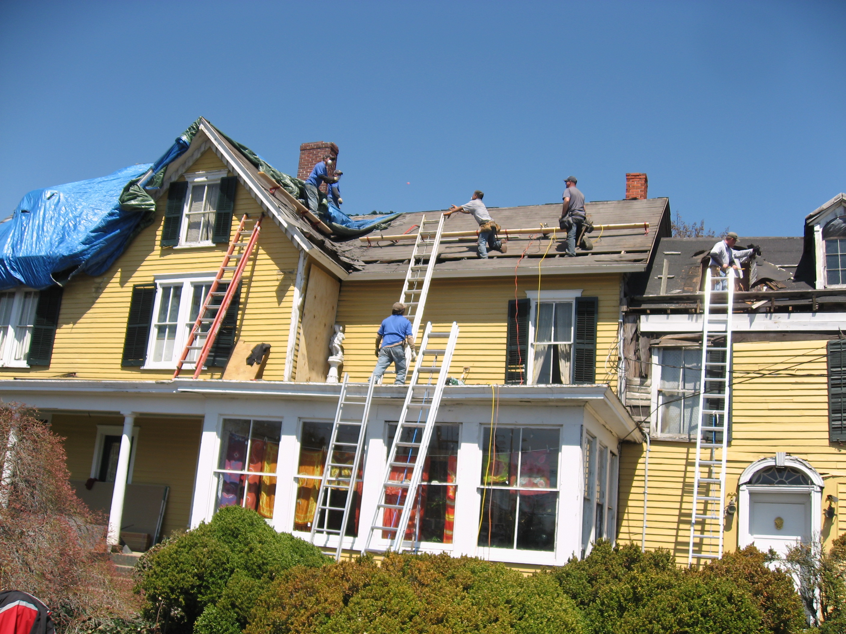 Pictures Of Residential Commercial Roofing Contractors New Jersey