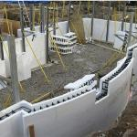 ICF Radius Wall From Above